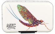 MFC Poly Fly Box - Larko's Chrome Mayfly