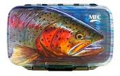 MFC Waterproof Fly Box - Hallock's Rainbow - Medium