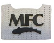 MFC Boat Box Foam Patch - Grey with Black MFC Logo