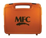 MFC Boat Box - Burnt Orange - Large Fly Foam