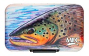 MFC Poly Fly Box - Hallock's Brown Trout
