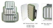 MFC Waterproof Fly Box - Olive - Medium