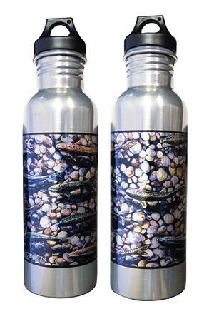 Water Bottle - Aluminum - Udesen's Trout Dreams picture