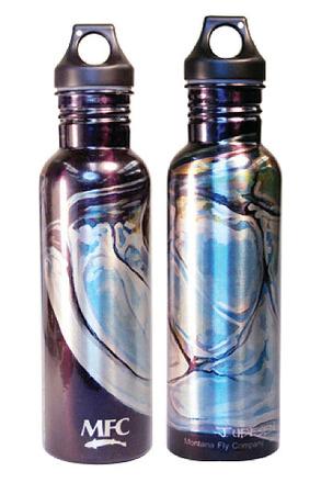 Water Bottle - Aluminum - Udesen's Tarpon Head picture