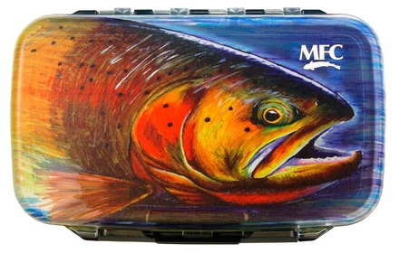MFC Waterproof Fly Box - Hallock's Cutty - Medium picture
