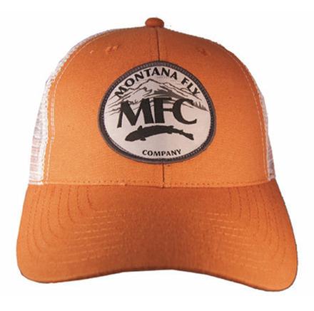 MFC Trucker Hat - Mountain Logo Patch - Burnt Orange picture