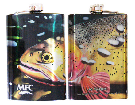 Stainless Steel Hip Flask - Maddox's Deep Cutt picture