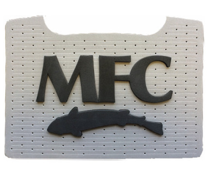MFC Boat Box Foam Patch - Grey with Black MFC Logo picture