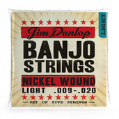 DJN0920 BANJO-NKL LIGHT-5/SET