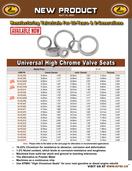 KPMI® Universal Valve Seat Catalog