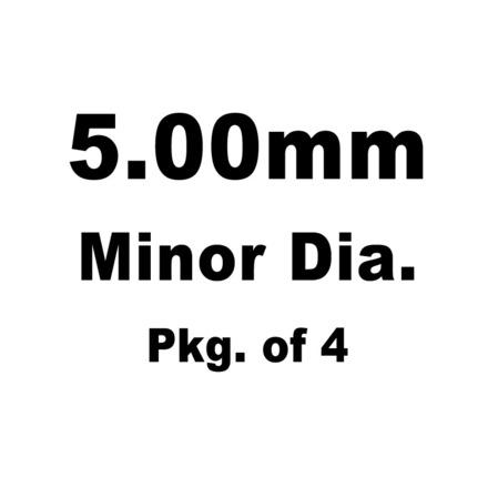 Lash Cap, HT Steel, 5.00mm Minor Dia.,Various Honda