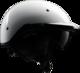 Rebel Warrior Pearl White Half Helmet M
