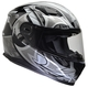 Vega Ultra Full Face Helmet (Black Shuriken, Medium)