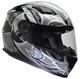 Vega Ultra Full Face Helmet (Black Shuriken, Small)