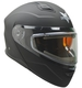 Vega Caldera Snow Modular with Heated Dual Lens Shield (Matte Black, X-Large)