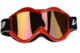 Vega Off Road Red Goggles w/ Red Lens