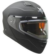 Vega Caldera Snow Modular with Heated Dual Lens Shield (Matte Black, Small)