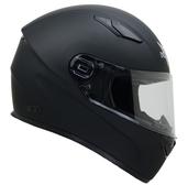 Vega Helmets 6100-057 Ultra Full Face Helmet for Men & Women (Matte Black, 3X-Large)