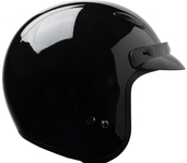 Raptor Open Face Black Medium
