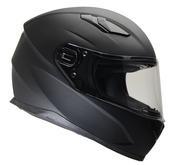 Vega Ultra Full Face Helmet (Matte Black, Small)