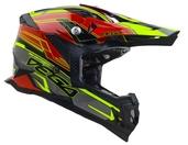Vega MCX Adult Off-Road Helmet (Red Stinger, X-Large)