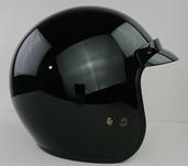 Vega X380 open face helmet in Gloss black size Large