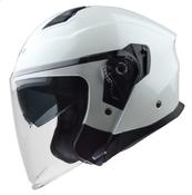Vega Magna Touring Helmet (Pearl White, 3X-Large)