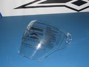 Vega Phantom convertible helmet replacement Anti-fog Shield