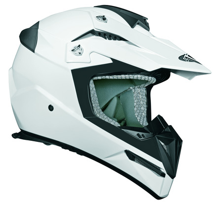 Stealth Flyte Off Road Helmet in White size Xsmall picture