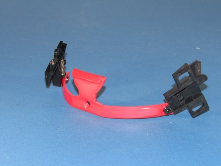 Vega Summit II Full Face Modular Helmet 2007 Replacement Red Push Button Latch Assembly picture