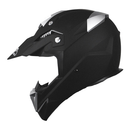 Stealth Flyte Off Road Helmet in Flat Black size Xsmall picture