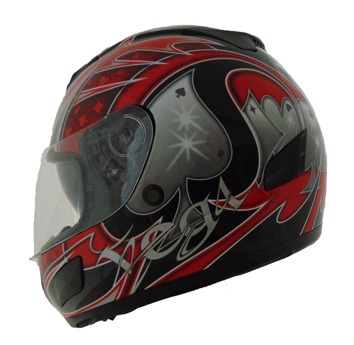 bf930907c14d1 Full Face, Insight Graphic w/ Quick Release, Red Ace | Soaring ...
