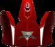VF1 Off Road Stinger Red Visor
