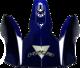VF1 Off Road Stinger Blue Visor