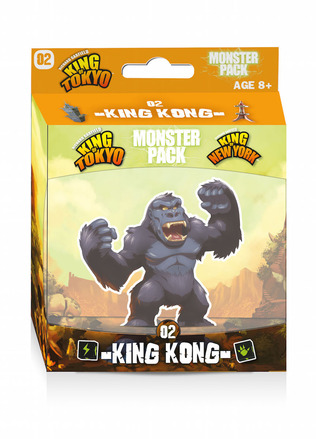 King of Tokyo/New York: King Kong Monster Pack picture