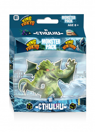 King of Tokyo: Cthulhu Monster Pack picture