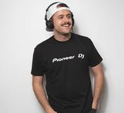 PIONEER DJ LOGO MENS T-SHIRT (L)