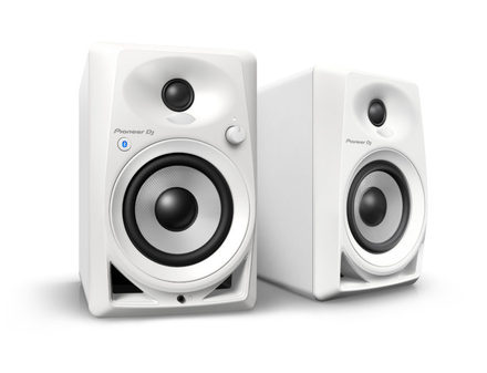DM-40BT-W 4-INCH COMPACT ACTIVE MONITOR SPEAKERS (WHITE, PAIR)