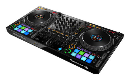 DDJ-1000 4-channel professional performance DJ controller for rekordbox dj