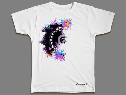 Artmix Jog Wheel t-shirt (DOUBLE X LARGE) picture