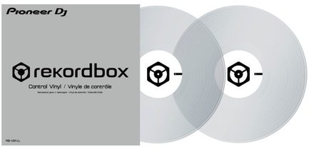 RB-VD1-CL CONTROL VINYL FOR REKORDBOX DJ (PAIR)