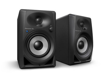 DM-40BT 4-INCH COMPACT ACTIVE MONITOR SPEAKERS (BLACK, PAIR)