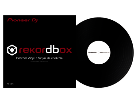 RB-VS1-K CONTROL VINYL FOR REKORDBOX DJ (1 PC)