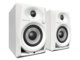 DM-40-W 4-INCH COMPACT ACTIVE MONITOR SPEAKERS (WHITE, PAIR)