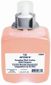 Optimum Foaming Pink Lotion Skin Cleanser Refills, 1250 ml, Case of 3