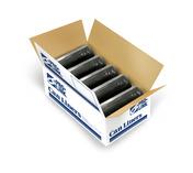 TuffSkins High Density Coreless Roll Liners, 24 x 33 in., 8 MIC, Black