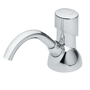 Premier Counter-Mount Manual Soap Dispenser, Chrome