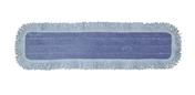 "Heavy Duty Microfiber Dust Mop Pad with Fringe, 5"" x 11"", Case of 12"