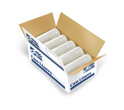 TuffSkins High Density Coreless Roll Liners, 40 x 48 in., 10 MIC, Clear