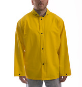 Industrial Work Jacket with Detachable Hood